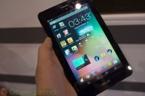 ASUS Fonepad with 7-inch display.